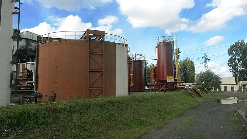 Stockage usine Sedibex