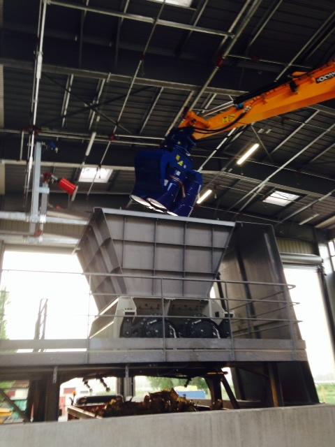 Mise en route du premier broyeur de déchets industriels dangereux en Seine Maritime 2