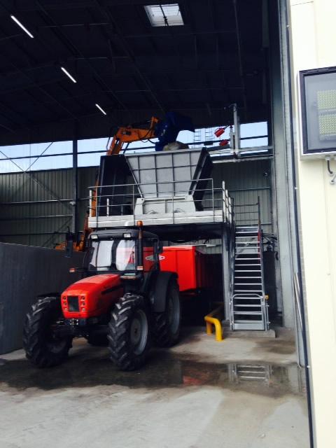 Mise en route du premier broyeur de déchets industriels dangereux en Seine Maritime